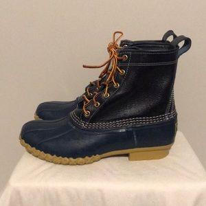 L.L. Bean Women's Blue Duck Boots size 9